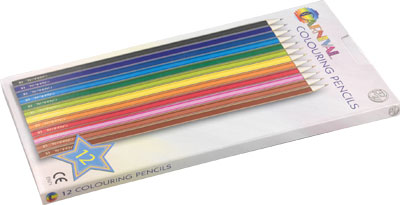 Carnival Colouring Pencils Full Size 12-Pack